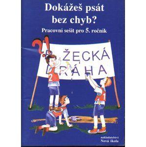 Dokážeš psát bez chyb ? - pracovní sešit pro 5.ročník ZŠ - Janáčková Zita