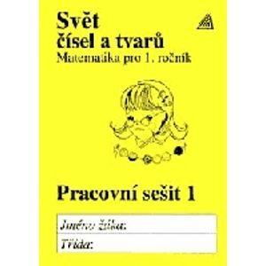 Svět čísel atvarů 1.r. - PS 1.díl - Hošpesová A.