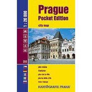 Prague Pocket Edition/Praha do kapsy 1:20 000