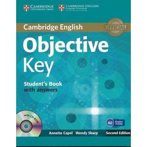 Objective Key 2E with Answers + CD-ROM - Students Book - Capel Annette,Sharp Wendy