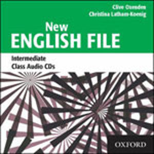 New English File intermediate class audio CDs (3)