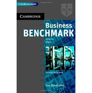 Business Benchmark 2nd edition Advanced / Higher Personal Study Book - Brook-Hart Guy