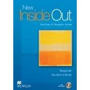 New Inside Out Beginner Students Book + eBook - Kay Sue, Jones Vaughan