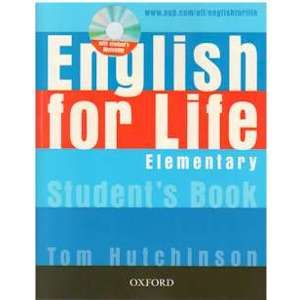 English for Life Elementary Students Book with student´s MultiROM - Hutchinson Tom