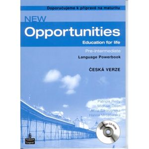 New Opportunities Pre-intermediate Language Powerbook - česká verze - Reilly P., Dean M., Sikorzyńksa A.