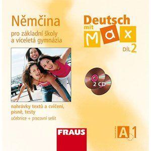 Deutsch mit Max 2 - Němčina pro ZŠ a VG /A1/ - audio CD