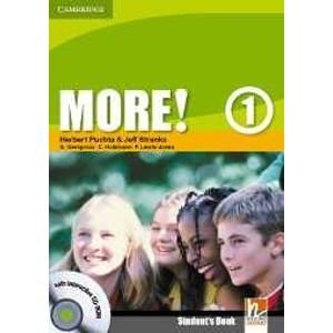 More! 1 Students Book + interactive CD-ROM - Puchta H., Stranks J. a kolektiv