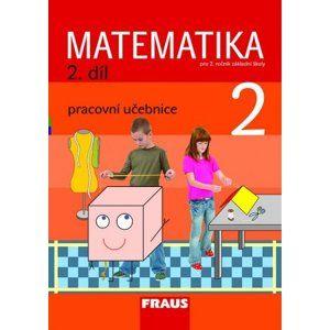 Matematika pro 2. ročník základní školy 2.díl - pracovní učebnice - Hejný, Jirotková, Slezáková-Kratochvílov