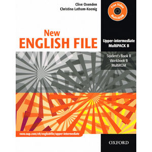 New English File Upper-intermediate Multipack B + CD-ROM - Oxenden C., Latham-Koenig Ch.