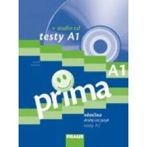 Prima A1 / Testy + audio CD - Antošová Jarmila
