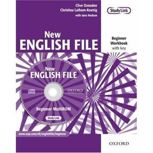 New English File beginner Workbook with key + MultiROM - Oxenden C., Latham-Koenig Ch.