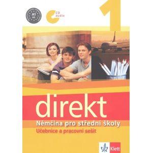 Direkt 1 - Němčina pro SŠ učebnice a pracovní sešit + CD - Motta G., Ćwikowska B., Vomáčková O.