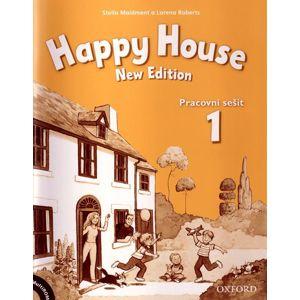 Happy House 1 NEW EDITION Pracovní sešit + Multirom (česká verze) - Maidment S., Roberts L.