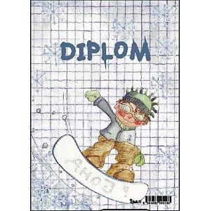 Diplom A5 - Snowboardista