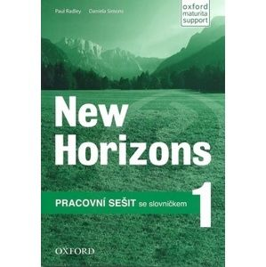 New Horizons 1 Workbook (Czech Edition) - Paul Radley and Daniela Simons