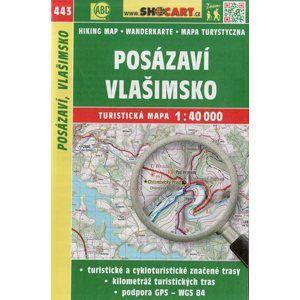 Dačicko, Okolí Telče -  mapa SHOCart č. 447 - 1:40 000