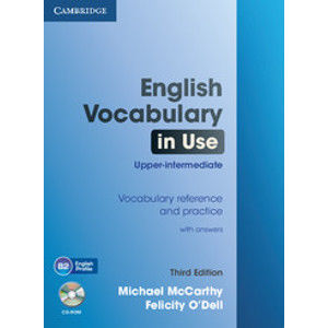 English Vocabulary in Use upper intermediate with answers + CD-ROM, 3. edice - Michael McCarthy, Felicity ODell
