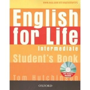 English for Life Intermediate Students Book + MultiROM - Tom Hutchinson