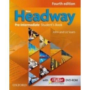 New Headway pre-intermediate Fourth Edition SB + onLine Skills - John a Liz Soars