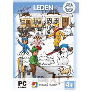 Hrajeme si a učíme se - LEDEN - interaktivní Software pro předškolní děti