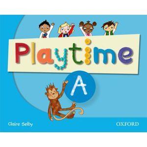Playtime - Level A - Class Book, učebnice angličtiny pro MŠ - Selby  Claire