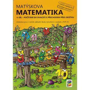 Matýskova matematika pro 2. ročník 4. díl - Počítání do dvaceti s přechodem přes desítku - Mgr. Miloš Novotný, František Novák