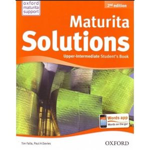 Maturita Solutions - Second Edition Upper-Intermediate Students Book (CZ)