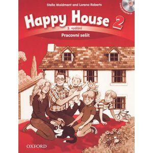 Happy House 2 - třetí vydání - Pracovní sešit s poslechovýn CD (CZ) - Maidment S., Roberts L.