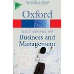 Oxford Dictionary of Business and Management / 5. vydání/