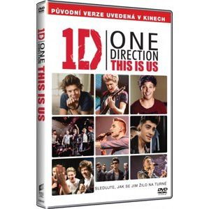 DVD One Direction: This Is Us - Morgan Spurlock