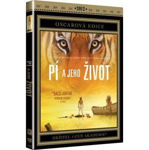 DVD Pí a jeho život - Ang Lee