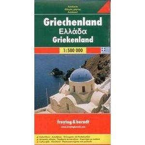 Řecko - automapa- 1:500 000