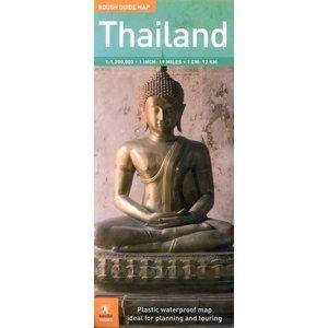 Thajsko - mapa Rough Guide 1:1 200 000