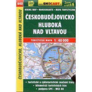 Českobudějovicko, Hluboká nad Vltavou - mapa SHOCart č.440 - 1:40 000