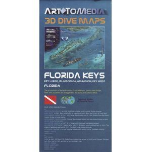 Florida Keys 3D Dive maps