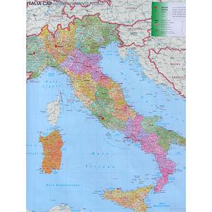 Itálie Spediční nástěnná mapa 1: 1,1 mil