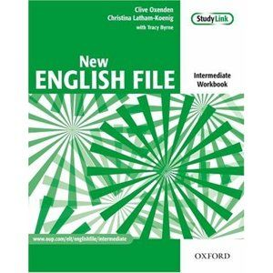 New English File intermediate Workbook with key and MultiROM - Oxeden,Koenig