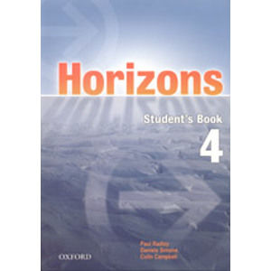 Horizons 4 Students Book with CD-ROM - Radley,Simons,Campbell