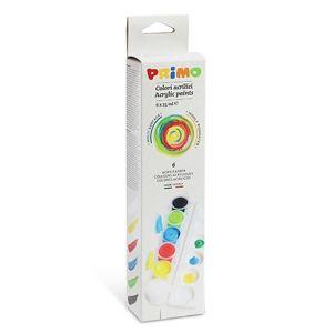 Akrylové barvy Primo - sada 6 x 25 ml