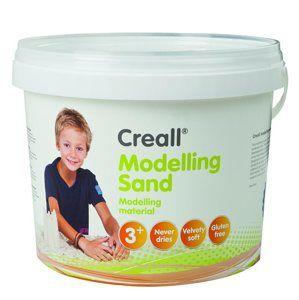 Modelovací písek Creall, přírodní - 750 g
