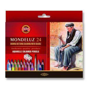 Koh-i-noor Umělecké akvarelové pastelky Mondeluz 3711 - 24 ks