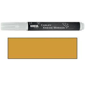 Křídový popisovač KREUL Medium - svítící zlatá (šíře hrotu 2-3mm)