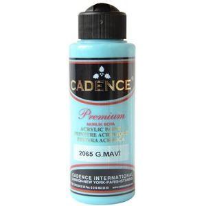 Akrylová barva Cadence Premium, 70 ml - azurově modrá