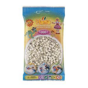 HAMA korálky slonová kost MIDI - 1000 ks
