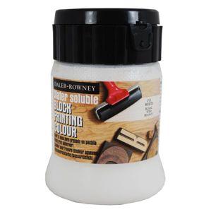 Daler-Rowney tiskařská barva 250 ml - bílá