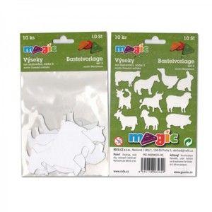 Papírové výseky - Domácí zvířata - 10 ks