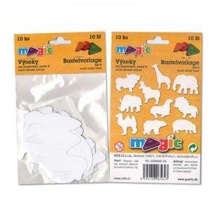 Papírové výseky - Divoká zvířata - 10 ks