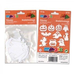 Papírové výseky - Halloween - 10 ks