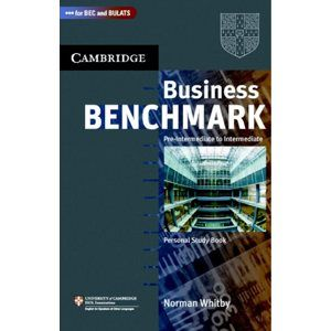 Business Benchmark 2nd edition Pre-Intermediate to Intermediate Personal Study Book - Whitby Norman