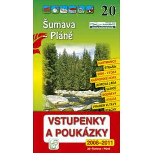 Šumava - Pláně - průvodce Soukup-David č.20 /+volné vstupenky/ - Soukup Vl., David P.